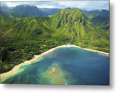 Colorful Kauai Coastline Metal Print by Kicka Witte