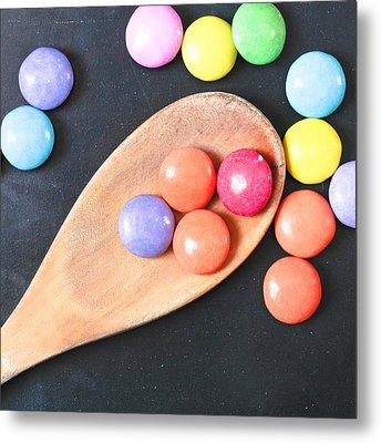 Colorful Sweets Metal Print by Tom Gowanlock