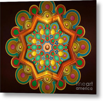 Colors Burst Metal Print by Bedros Awak
