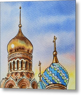 Colors Of Russia St Petersburg Cathedral Iv Metal Print
