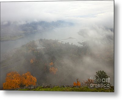 Columbia River Hidden Metal Print by Mike  Dawson