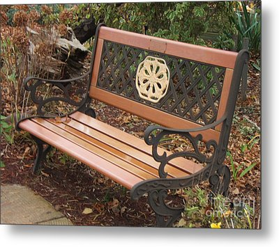Come Sit Metal Print by Margaret McDermott