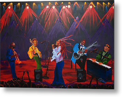 Concert Of All Concerts Metal Print by Portland Art Creations