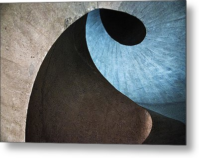 Concrete Wave Metal Print