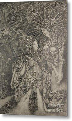 Constelacion Metal Print by Ignacio Bernacer Alpera