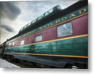Conway Scenic Railroad Metal Print