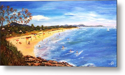 Coolum Beach Metal Print
