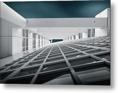 Corridors Of Power Metal Print