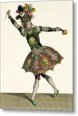 Costume For A Demon In Armide, Psyche Metal Print
