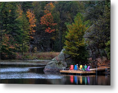 Cottage Country Metal Print by Jim Vance