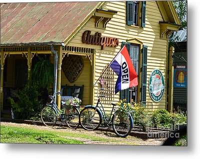 Country Antiques Metal Print