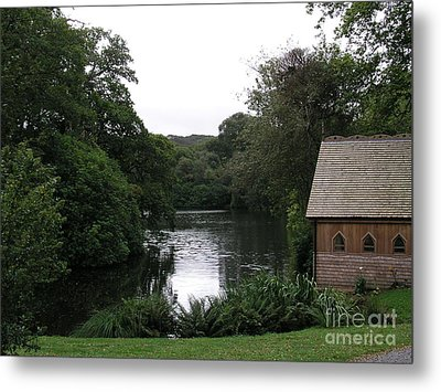 Country Estate Metal Print by Bev Conover