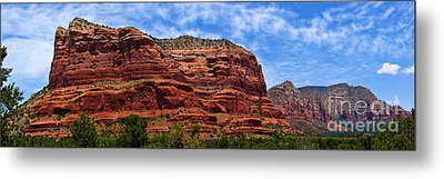 Courthouse Butte Rock Formation Sedona Arizona Metal Print by Amy Cicconi