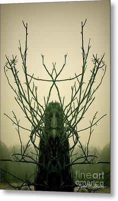 Creature Of The Wood Metal Print by David Gordon