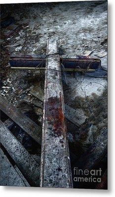 Crucifixion Metal Print by Margie Hurwich