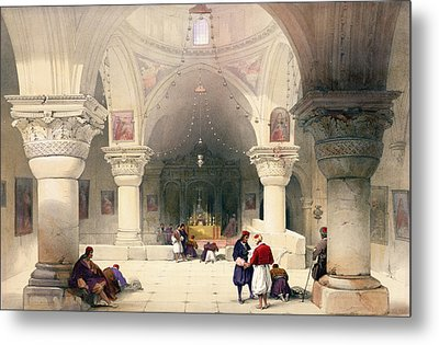 Crypt Of The Holy Sepulchre Metal Print