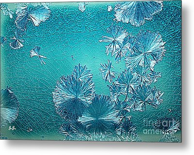 Crystal Blue Persuasion Metal Print