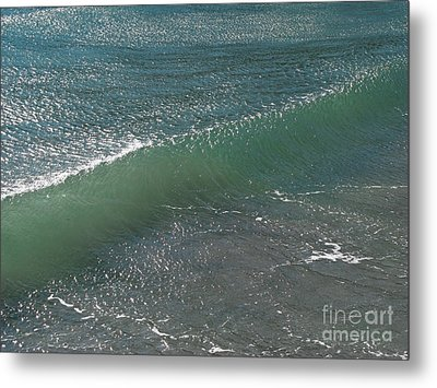 Crystal Clear Wave Movement Metal Print by Kiril Stanchev