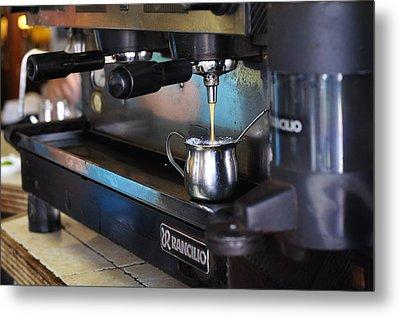 Cuban Coffee Metal Print by Andres LaBrada