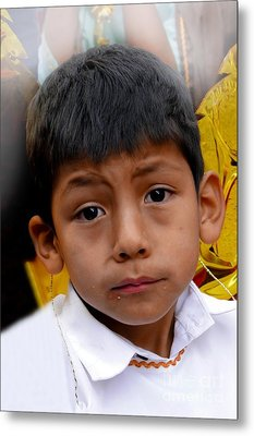 Cuenca Kids 411 Metal Print