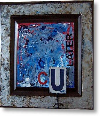 Culater Metal Print