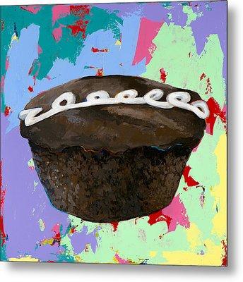 Cupcake #3 Metal Print