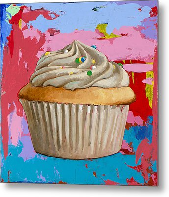 Cupcake #4 Metal Print by David Palmer