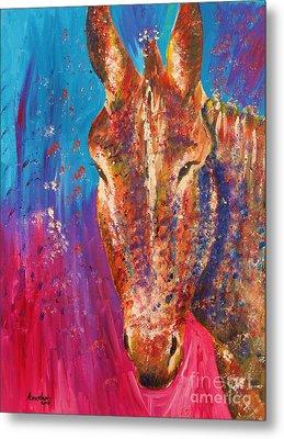 Cyprus Donkey Metal Print by Anastasis  Anastasi