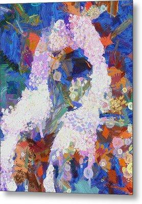 Metal Print featuring the painting Dance Of Fools by Joe Misrasi