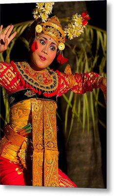 Metal Print featuring the photograph Dancer - Bali by Matthew Onheiber
