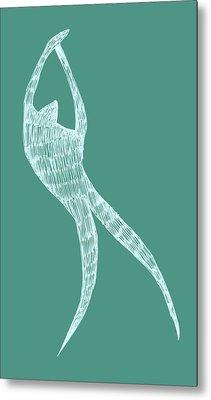 Dancer Metal Print by Michelle Calkins