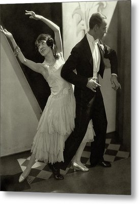 Dancers Fred And Adele Astaire Metal Print