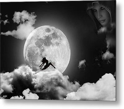 Dancing In The Moonlight Metal Print by Alex Hardie