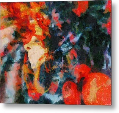 Metal Print featuring the painting Dangerous Passion by Joe Misrasi