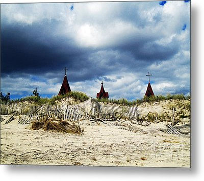 Dark And Stormy Metal Print by Alison Tomich