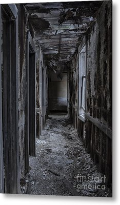Dark Halls Metal Print by Margie Hurwich