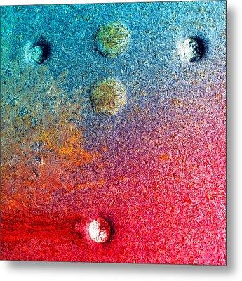 Dark Rose Metal Print by Tom Druin