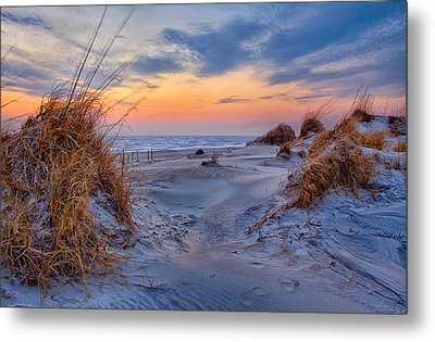 Daybreak On The Outer Banks 1 Metal Print by Dan Carmichael
