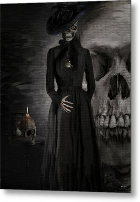 Deathly Grace Metal Print