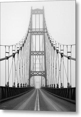 Deer Isle Bridge Metal Print by Patrick Downey