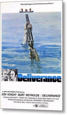 Deliverance Metal Print by Movie Poster Prints