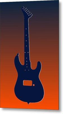 Denver Broncos Guitar Metal Print