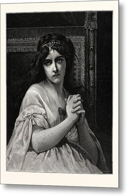 Desdemona. After Cabanal. Desdemona Is A Character Metal Print