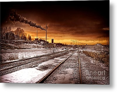 Desolate Metal Print