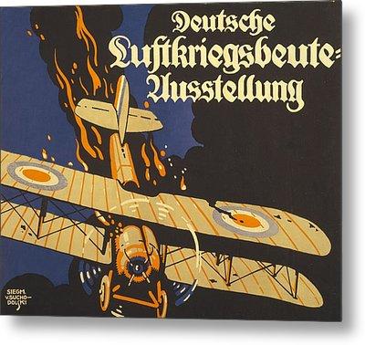 Deutsche Luftkriegsbeute Ausstellung Metal Print by Siegmund von Suchodolski