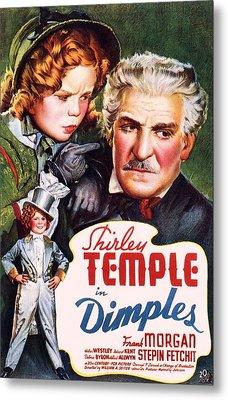 Dimples Metal Print by Movie Poster Prints
