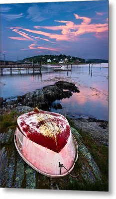 Dinghy Metal Print by Benjamin Williamson