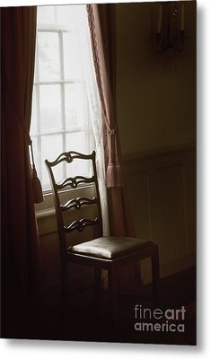 Dining Room Window Metal Print by Margie Hurwich