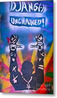Django Unchained 2 Metal Print by Tony B Conscious
