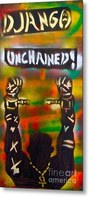 Django Unchained Metal Print by Tony B Conscious